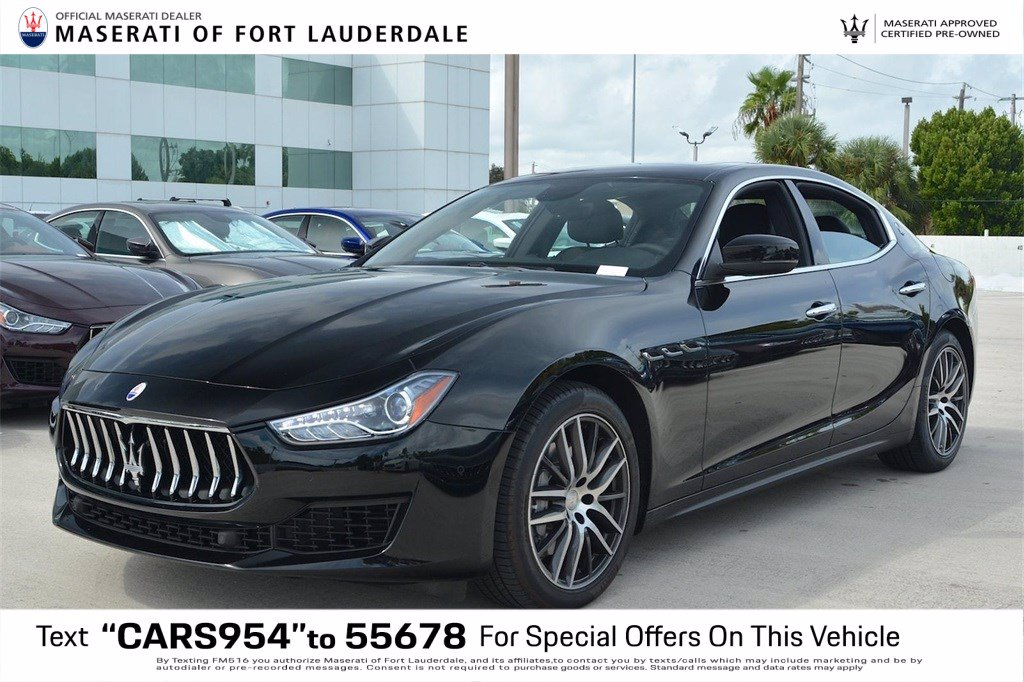 Certified Pre-Owned 2019 Maserati Ghibli